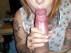 Emo Punk Blowjob, rimjob & cum in mouth