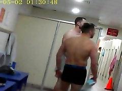 sporto lobed oil paslėpta kamera