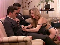 Business woman in retro porn happy to gives in ass and cunt