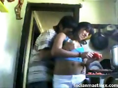indian cousins fucking in kitchen and moaning loudly - indianmastisex.com