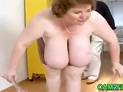 Fantastic Tits: Free granny and big black cock sexy movie hot Video 3c