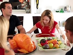 Brother Fucks Sister on Thanksgiving