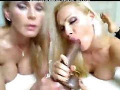 Busty Blonde Mature mom abuses her step son Goddesses With Stockings