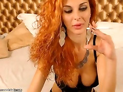 beautiful slipping sexy 3 girl force sperm smoking