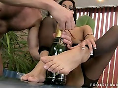 जकूज़ी पैर ambon mitha ! बड़ा सह पर लंबे समय सेक्सी पैर की उंगलियों