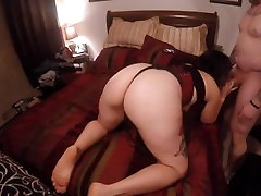 Big Booty anny silver slut sucks & gets drilled from behind