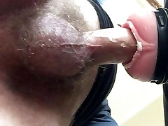 Fucking a rubber pussy