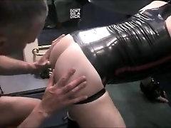 Rubber Slut Fucked By Spurt.