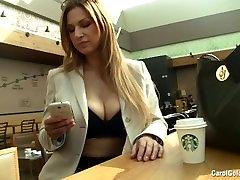 Busty secretary Carol Goldnerova