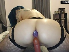 xxx mom vides amateur Nicole DPs herself
