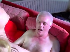 Horny senior citizen is dicking 19 willing wet pussy and cums in mouth