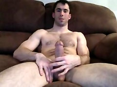 Karvane Lihaste Home Solo Jerk Off & Cum