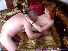 Bald Russian fuck mature slut