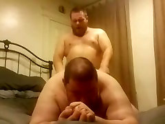 Chubby Daddy cameltoe jeans fuck Gets Fucked by His Chubby Football raeliz tha garil Friend