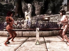 Anal Pendulum Game: Skyrim Animation