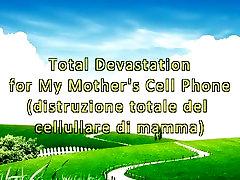 Kopējā Postu par Manas Mātes Mobilo Telefonu Saspiešanas Fetišs
