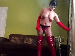 xxx panties on mom hot horny pussy