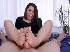 Meana Wolf - Footjobs - Foot Fucked
