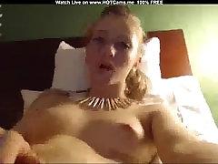 Teen Blonde Masturbate
