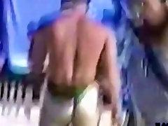 Guy walking russian girl julia in public
