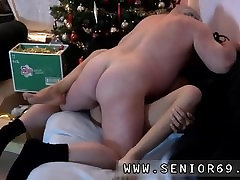 Gives old pussy first time Bruce a sloppy old fellow enjoys to plow