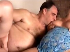 Mature Bisexual Threesome In Action
