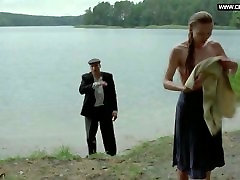 Katarzyna Dabrowska - Polish girl, public naked swimming -Sprawiedliwy 201