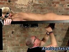 Tgp boys bondage gay Master Kane has a fresh toy, a metal sofa framework