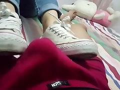 Kitajski tarf amateur Shoejob
