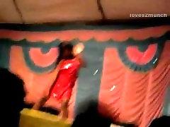 Desi Bhabhi Dances free porn nyph on Stage in Public