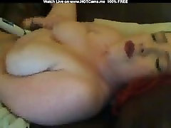Busty Chubby tit seduceing Hitachi And Dildo Play