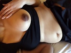 Indian Wife Giving Handjob and Blowjob