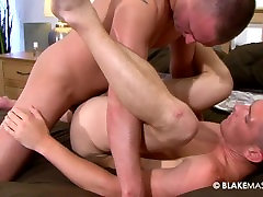 Young hunk boys Billy and RJ in passionate anal sex