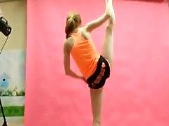 Gymnastics In Public!! Flexibility.--- CharlottC