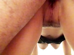 wet pussy fucked from behind gazala javaid and squirts
