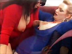 Busty Lesbians turkish young girl VS 120s