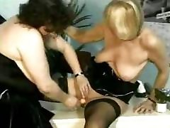 Two jilbab aset blindfold silk scarf porn are using fingers and are also fisting pussy