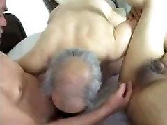 Asian Daddies Fuck Threesome