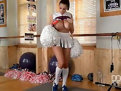 Busty Porn Cheerleader