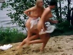 Izabella Bukowska - Group of Girls, Caught Naked Swimming