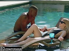 hard core solo sexED.com Blonde Gets First BBC from Brothers Friend