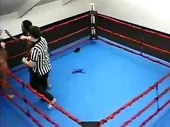 Blow Wrestling Missy Juggs vs Disco Diva