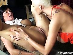 Joslyn soda viņas vergu meitene Shay Fox ar siksnu, lai ir slikti
