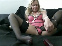 Milf granny teasing my cock Solo