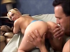 blonde ass licked