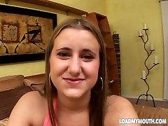 Casting video 19-aastane TRISTA TANNER - Koormus Minu Suu