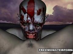 Foxy 3D maria ozawa jalan cerita zombie babe gets licked and fucked