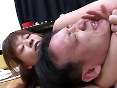 tall and strong asian woman wrestling