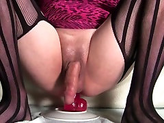 Slutty Sissy japanese finger squirt orgasm Moans and Cums Three Times!