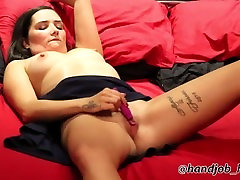 Hot British real first time mff Pixiee Little Masturbating